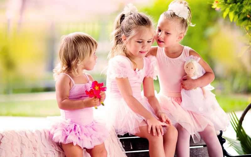 Mädchen Party